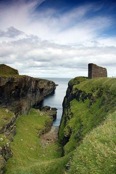 The Castle of Old Wick, Scotland
