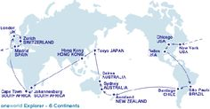 Oneworld to allow round-the-world trips booking via tablets - Business Traveller