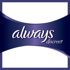 Free Sample of Always Discreet!  Get Them Here===>