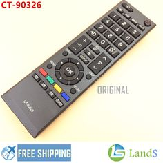 >> Click to Buy << BRAND NEW REMOTE CONTROL CT-90326 FOR TOSHIBA TV LED LCD TV 26AV615DB, 37RV635D, 40RV525R, 40RV525U, 40RV52U, 46RV52U #Affiliate