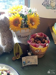 Winnie the Pooh Party Food Ideas - Haycorn Cookies