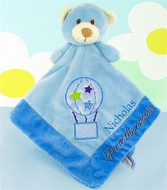 Little Bear Security Blanket  Can be personalized