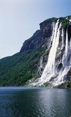 Geirangerfjord - Norway ~ @My Travel Manual
