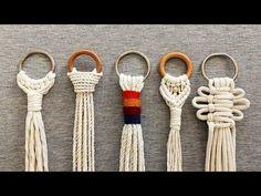 Macrame Art, Macrame Design, Macrame Projects, Micro Macrame, Macrame Plant Hangers, Macrame Patterns, Crochet, Weaving, Videos