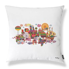 Skyship Flypast Cushion, £50, now featured on Fab.