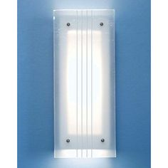 Twilight Blue Fluorescent Wall Sconce - (In Twilight Blue)