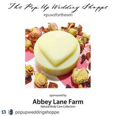 can't wait to find out who will be the lucky bride to be whom we'll have the pleasure of creating personalized all natural lotion bar favors for in her scent preferee!  contest closes at midnight PST! #repost @popupweddingshoppe with @repostapp.  Brides-to-be there are only a few hours left to enter our #bridalshower #giveaway! The package includes these amazing heart-shaped lotion bar #favors from @abbeylanefarm. The winning bride will be able to choose her desired scent for the favors and…