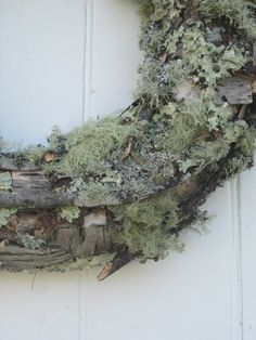 moss and twig wreath