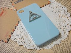 Harry Potter Deathly Hallows iPhone Case