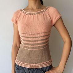 Ravelry: WovenCable Top pattern by Adeline Too