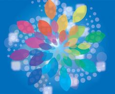 Lovely Abstract Flower Halftone Vector Background - http://www.welovesolo.com/lovely-abstract-flower-halftone-vector-background/
