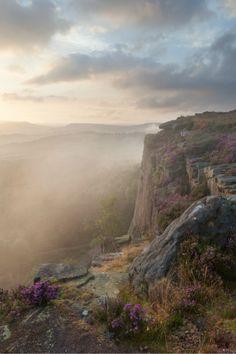 Millstone Edge Mist by Paul Newcombe    . Peak District, England