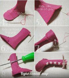 Mimin Dolls: mini shoes