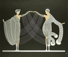erte ballet COSTUMES | ERTE...genius behind Deco wearable and sculptural fashion and costume ...
