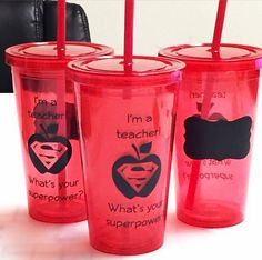 I'm a teacher! What's your superpower? - DIY End of The School Year Teacher Appreciation Gift - Vinyl Only