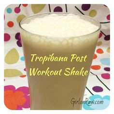 Post #bodypump protein shake - YUM. Recipe here www.girlonraw.com/recipes under beverages