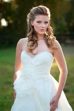 Visit Us at Brides Book #wedding #Hairstyles for her special day.Don't forget to visit us each for a chance to win a 100.00 AMEX gift card