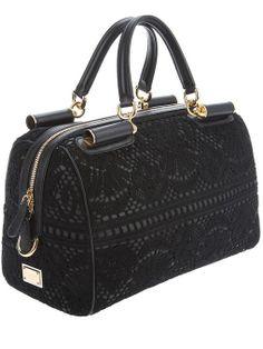 Dolce & Gabbana Lace Detail Handbag
