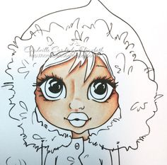 Copic Marker Europe: Tutorial: How to color faces