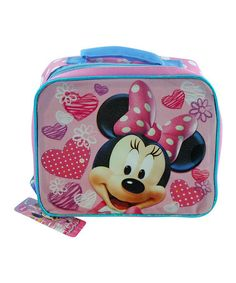 Loving this Minnie Rectangle Lunch Bags on #zulily! #zulilyfinds