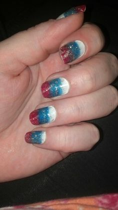 Independence Day nails