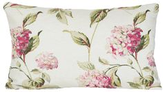 Find sophisticated detail in every Laura Ashley collection - home furnishings, children's room decor, and women, girls & men's fashion. Laura Ashley Pillows, Laura Ashley Fabric, Floral Cushions, Embroidered Cushions, Shabby Chic Armchair, Flower Pillow, Hydrangea Flower, Hydrangeas, Childrens Room Decor