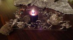 Adventskranz ANGEBOTSPREIS von PAULSBECK Buchstaben, Dekoration & Geschenke auf DaWanda.com