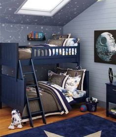 Gorgeous Star Wars Bedroom Decor With 45 Best Star Wars Room Ideas For 2016 bedroom, decor, star, wars Bedroom Themes, Kids Bedroom, Bedroom Decor, Bedroom Ideas, Kids Rooms, Trendy Bedroom, Boys Star Bedroom, Modern Bedroom, Nerd Bedroom
