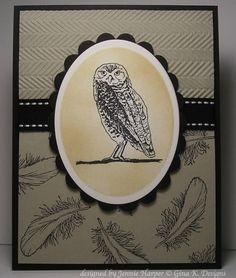 Nesting ~ Owl created by Jennie Harper