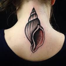 Image result for sea shell tattoo