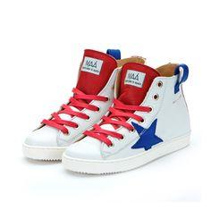 MAA hi top sneakers. Basket Ice at maashoes.com