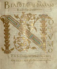 Bibliothèque nationale de France, Latin 266 f.4. Bible, Évangiles de Lothaire (between 849 and 851)