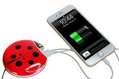 **New** Ladybug Inspired Power Bank | Portable Mobile Pho...