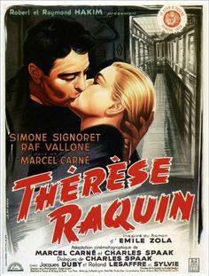 Thérèse Raquin (1953, Marcel Carné) - d'après un roman d'Emile Zola
