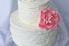 Learn to give your buttercream cakes a vintage, ridge appearance. This is a perfect technique for all skill levels.