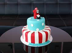 Cat in the Hat | Oklahoma's Premier Wedding Cake Designer and Sugar Artist