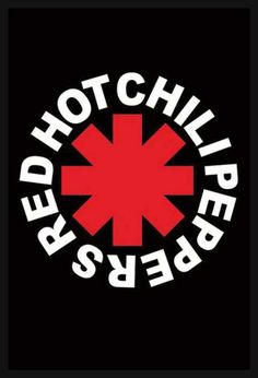 Red Hot Chili Peppers Decor Vinyl Painted - Wall Art Decor Red Hot Chili Peppers Rock Band - Unique Gifts for Fans Red Hot Chili Peppers - Best Gift for Rock Music Lovers - The Best Home Decoration Rockband Logos, Rock Logos, Rock Bands, Band Stickers, Meme Stickers, Rock Poster, Patches, Anthony Kiedis, Tumblr Stickers