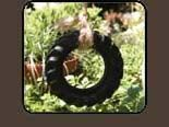 The Fairy's Garden: Garden Adornments  Tire swing and other Fairy Garden items