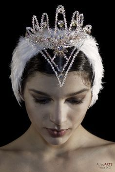 SWAN LAKE HEADPIECE