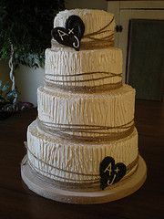 I like this cake...it would certainly fit my theme, but not my budget :)