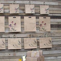 bag storage at terrain, via @Jò in Wonderland Cho