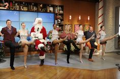The holiday season wasn't complete without a visit from Radio City's own Rockettes!