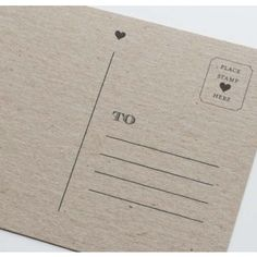 Crafting With Style: Free Postcard Templates | Postcards ...