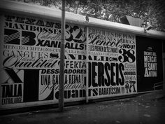 Barcelona - Temporary Mercat de Sant Antoni Cool graphics