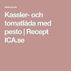Kassler- och tomatlåda med pesto | Recept ICA.se