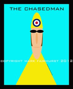 Twitter / cyclingfans: Just in: TDF peloton art:The Chasedman: Hommage to Bradley Wiggins and Paul Weller by Mark Fairhurst: