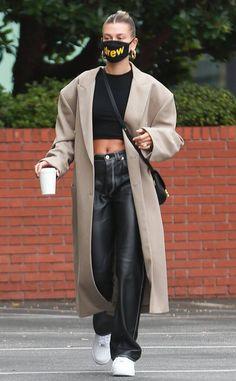 Looks Street Style, Model Street Style, Looks Style, Dope Style, Estilo Hailey Baldwin, Hailey Baldwin Style, Fashion Face, Look Fashion, Fashion Outfits