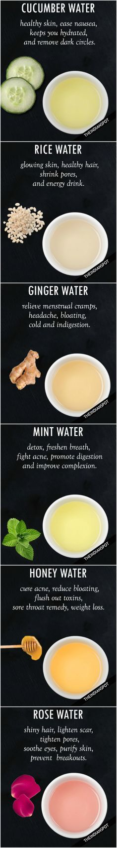 best water remedies