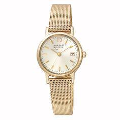 MARGARET HOWELL idea マーガレット・ハウエル アイディア ラウンド ゴールド 腕時計 BK2-020-31: TiCTAC 腕時計の通販サイト【チックタックオンラインストア】