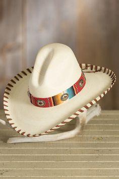Patricia Wolf Gus Straw Sombrero Hat ddd4f29daa30